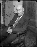 George (Les) Bruneman, Los Angeles, 1934