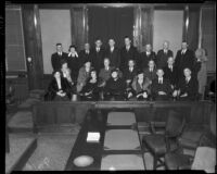 Los Angeles County Grand Jury, 1934.