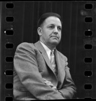 Wayne Fisher, foreman of the 1934 Los Angeles County Grand Jury.
