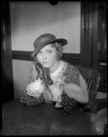 Ada Williams Ince, young actress, divorces William T. Ince, son of producer Thomas H. Ince.  April 13, 1934.