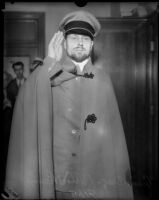"""Prince"" Michael Romanoff, popular Hollywood pretender to Russian royal blood, Los Angeles, 1934 (?)"