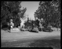 House where William F. Gettle was kept during his kidnapping, La Crescenta, 1934