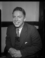 Judge William E. MacFaden, Los Angeles, circa 1934