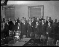 Los Angeles county grand jury, Los Angeles, 1935