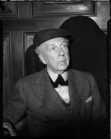 Frank Lloyd Wright, architect, 1867-1959