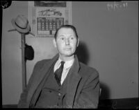 John Binan, man who was questioned and later released over the homicide of Louise Appier, Los Angeles, 1935