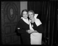 Evangelists Aimee Crawford and Rheba Crawford, Los Angeles, 1934