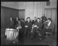 William Freelove trial, Beverly Hills, October 9, 1935
