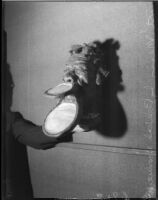 Mask by artists Beulah Woodward, Los Angeles, circa September 1935