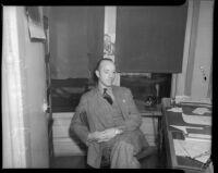 C.J. Haggerty, July 1937