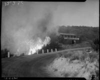 Fire in Malibu, 1936
