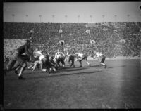 Match between USC and UCLA at the Coliseum, Los Angeles, 1935