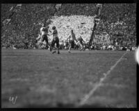 Match between USC and UCLA at the Coliseum, Los Angeles, November 2, 1935