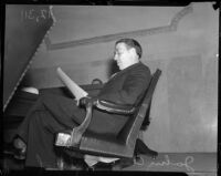 Supervisor John Anson Ford at the Hall of Records, circa 1935
