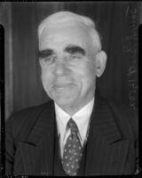 Portrait of Joseph Scott, circa 1935