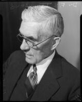 Portrait of Dr. Francis Everett Townsend