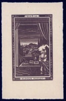 Aldous and Maria Huxley bookplate
