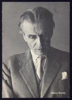 Program for Aldous Huxley lecture at Massachusetts Institute of Technology [descriptive]