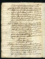 Testamento di Vicino Orsini, con cui nomina eredi Corradino e Marzio suoi figli legittimi. Onofrio Diamanti notaio