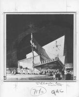 "Newsreel Theatre ""Sign,"" photograph of rendering"