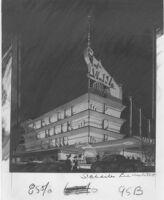 "Newsreel Theatre ""La Vona,"" photograph of rendering"
