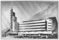 Reforma Theatre, Mexico City, rendering