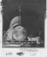 """Newsreel Theatre """"Town,"""" photograph of rendering"""