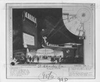"Newsreel Theatre ""Correa,"" photograph of rendering"