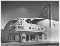 Mayfair Theatre, Ventura, exterior