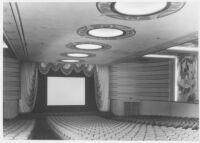 Linda Vista Theatre, Mexico City, auditorium, proscenium