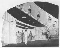 Miami Theatre, Miami, rendering, candy counter