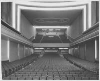 Miami Theatre, Miami, auditorium, rear