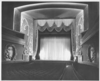 Miami Theatre, Miami, auditorium, front