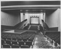 Miami Theatre, Miami, auditorium, balcony