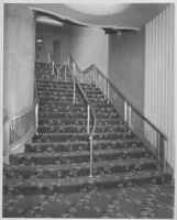 Miami Theatre, Miami, stair to mezzanine