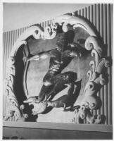 Miami Theatre, Miami, auditorium, sculpture detail