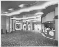 Miami Theatre, Miami, foyer entrance