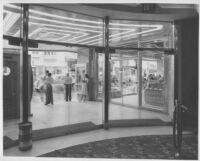 Miami Theatre, Miami, foyer entrance, lobby and lobby entrance