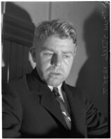 Accused murderer Fred Stettler in Los Angeles, 1936
