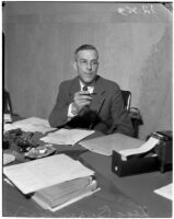 Herbert C. Legg, chairman of the Los Angeles County Board of Commissioners from 1934-1938.