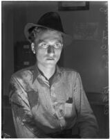 James F. Culver, young Kentuckian transient and suspect in the murder of Ethel E. Whittaker.  Circa April 20, 1936.