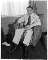 Vito Marcantonio, member of the United States House of Representatives from New York, Los Angeles, 1930s