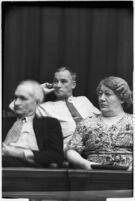 Jury for the trial of Albert Dyer, confessed murderer of three Inglewood girls, Los Angeles, August 1937
