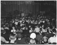 Members of the American Federation of Labor at the 38th annual convention of the State Federation of Labor, Long Beach, September 1937