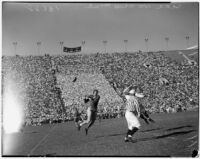 USC Trojans vs. Ohio State Buckeyes game at the Coliseum, Los Angeles, October 9, 1937