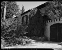 Home of Paul A. Wright, who is accused of the double murder of his wife and best friend, Glendale, November 10, 1937