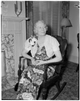 Mrs. Albert Sydney Brown, prominent clubwoman, Los Angeles 1930s and 40s