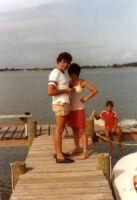 Alicia and Eduardo at the beach