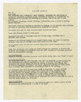 Specifications, sheet metal, undated, 01 of
