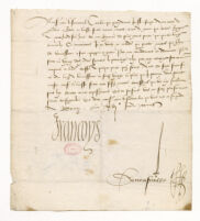MS 170/475 : François I, King of France (1494-1547). Letters (1523-1524).